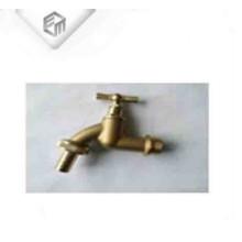 Nickle plated brass bathroom stopcock small water tap